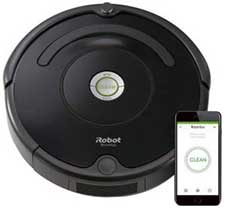 Best Robotic Vacuum: iRobot Roomba 675