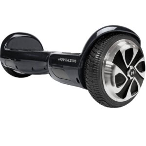 HOVERZON S Series Self Balance Hoverboard Scooter UL 2272; Dual Power 250-Watt Motor; Durable Aegis Armor Battery (Red)