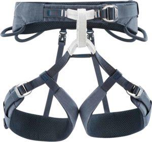 multi-tasking climbing harness: Petzl Adjama