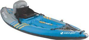 best budget inflatable kayak: Sevylor Quikpak 1 Person Kayak
